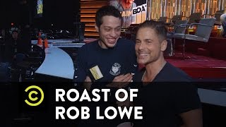 Roast of Rob Lowe - Behind the Scenes - Preparing for the Roast the Only Way They Know How