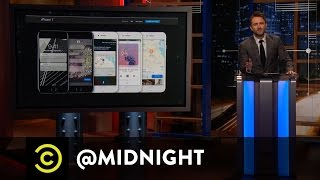 Apple's Disappointing New iPhone 7 Feature - @midnight with Chris Hardwick