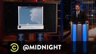 Extended - Donald Trump-Shaped Cloud - @midnight with Chris Hardwick