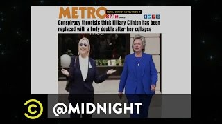 Hillary Clinton's Body Double - @midnight with Chris Hardwick