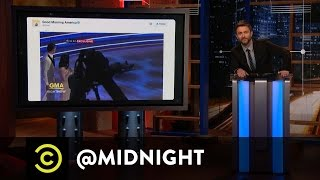 Forgiving Ryan Lochte - @midnight with Chris Hardwick