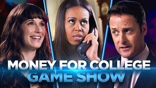 Money for College Game Show (with FIRST LADY MICHELLE OBAMA!)