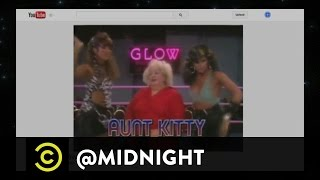 Yassir Lester, Chris D'Elia and Ron Funches - Wrastlin' Videos - @midnight with Chris Hardwick