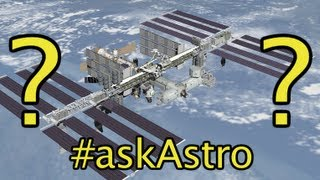 #AskAstro - Can ISS Astronauts spin and stop like cats? - Smarter Every Day 82