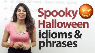 Spooky Halloween Idioms and Phrases - English Vocabulary Lesson