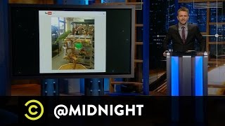 Emily Heller, Matt Goldich, Marc Maron - Birds Say the Darndest S**t - @midnight with Chris Hardwick