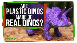 Are Plastic Dinosaurs Made from Real Dinosaurs?!