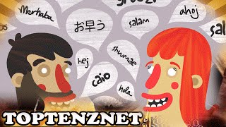 Top 10 Most Spoken Languages — TopTenzNet
