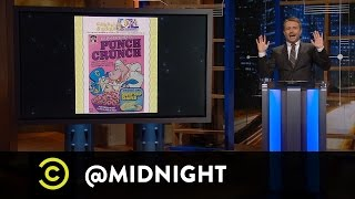 Emmy Blotnick, Johnny Pemberton, Ron Funches - GIF-o-mercial - @midnight with Chris Hardwick