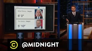 Donald Trump and Mike Pence's Heightgate Scandal - @midnight with Chris Hardwick