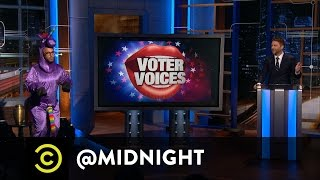 Voter Voices: Securing the Furry Vote - @midnight with Chris Hardwick - Uncensored