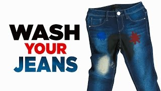 What It Takes to Wash Your Jeans