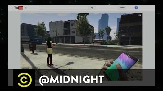 Samsung Galaxy: Exploding Into Your DMs - @midnight with Chris Hardwick
