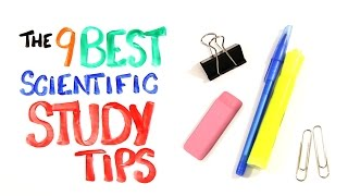 The 9 BEST Scientific Study Tips