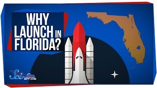 Why Are Rockets Launched in Florida?
