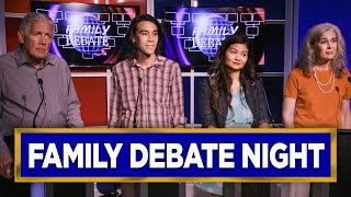 If Political Discussions with Your Family Were Like Presidential Debates