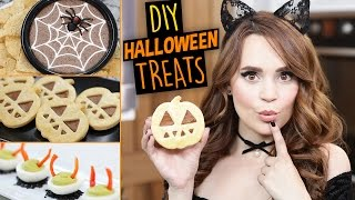 DIY HALLOWEEN TREATS 2016!