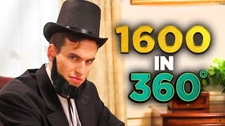 Inside Abraham Lincoln's Oval Office (in 360!)