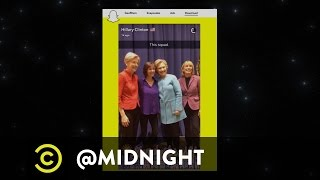 Hillary Clinton's Squad Goals - @midnight with Chris Hardwick