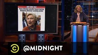 Trending Typo - #HillaryForPrision - @midnight with Chris Hardwick