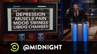 Chris Unloads on Male Birth Control - @midnight with Chris Hardwick