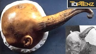 Top 10 BIZARRE Archeological DISCOVERIES