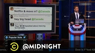 Moving to Canada - @midnight with Chris Hardwick