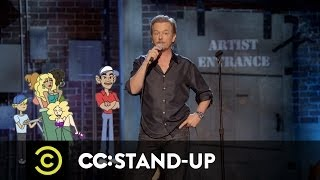 Comedy Central Re-Animated - David Spade - Tiger's Baggage  - Uncensored