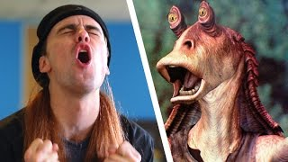 The Guy Who Won't Stop Talking About Jar Jar Binks