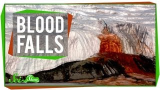 Weird Places: Blood Falls