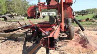 Portable Sawmill Timelapse - Wood-Mizer