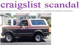 How Not to Buy a Car on Craigslist