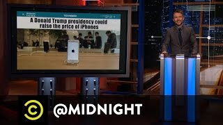 Could Donald Trump Ruin the iPhone? - @midnight with Chris Hardwick