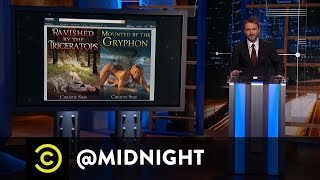 Chuck Tingle: An Uncomfortably Close Look - @midnight with Chris Hardwick