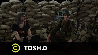 Tosh.0 - CeWEBrity Profile - Atheist in a Foxhole