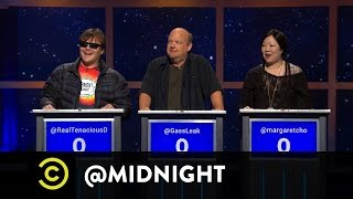 Jack Black, Kyle Gass and Margaret Cho - I'm Not with the Band - @midnight w/ Chris Hardwick