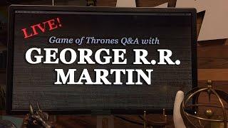 George R.R. Martin Talkback LIVE!