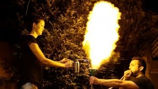 Corn Flour Fireball