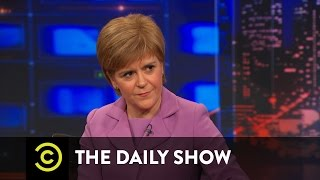 The Daily Show - Nicola Sturgeon Extended Interview Pt. 2