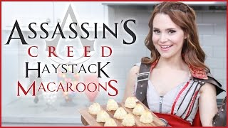 ASSASSIN'S CREED HAYSTACK MACAROONS - NERDY NUMMIES
