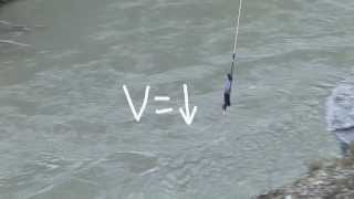 Option D - Acceleration of a Bungy Jump