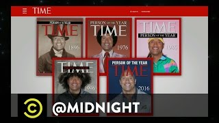 Donald Trump: TIME's Person of the Year - @midnight with Chris Hardwick