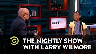 The Nightly Show - Marley Dias Talks #1000BlackGirlBooks