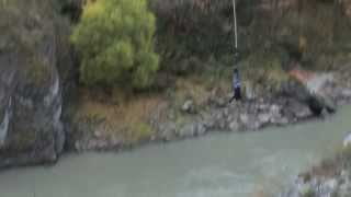 Option E - Acceleration of a Bungy Jump