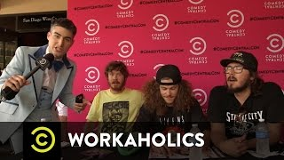 Workaholics - CCC Interviews the Guys at Comic-Con