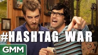 We Declare a #HASHTAG WAR!