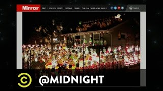 Christmas Light Pissing Contest - @midnight with Chris Hardwick