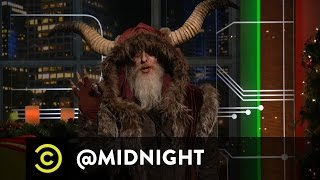 Krampus Wants to Make Christmas Great Again - @midnight with Chris Hardwick