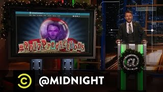 #HashtagWars - #2017Predictions - @midnight with Chris Hardwick