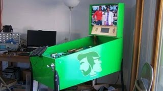 The Rhett and Link Pinball Machine